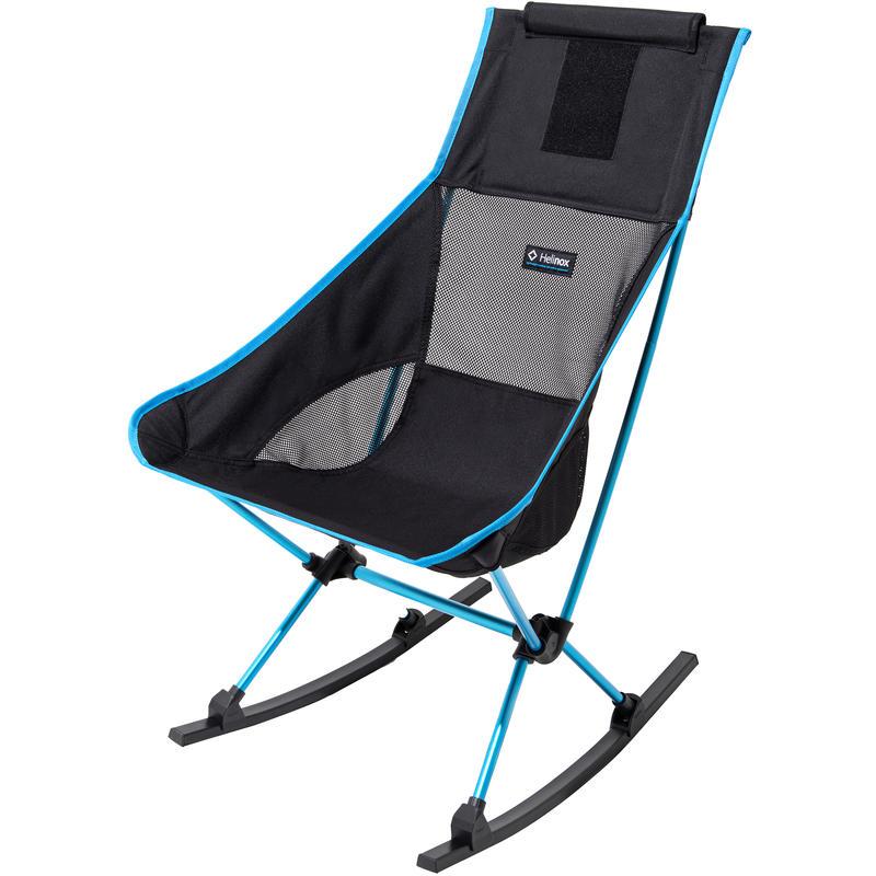 Chaise berçante Two Noir