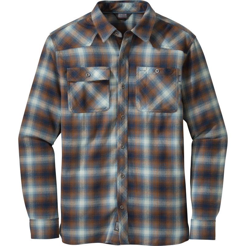 Feedback Flannel Shirt Night/Saddle