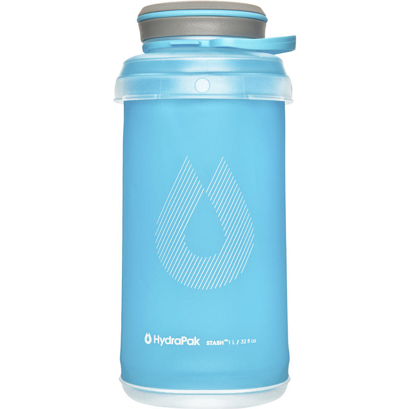 Stash Collapsible Bottle 1L Malibu Blue
