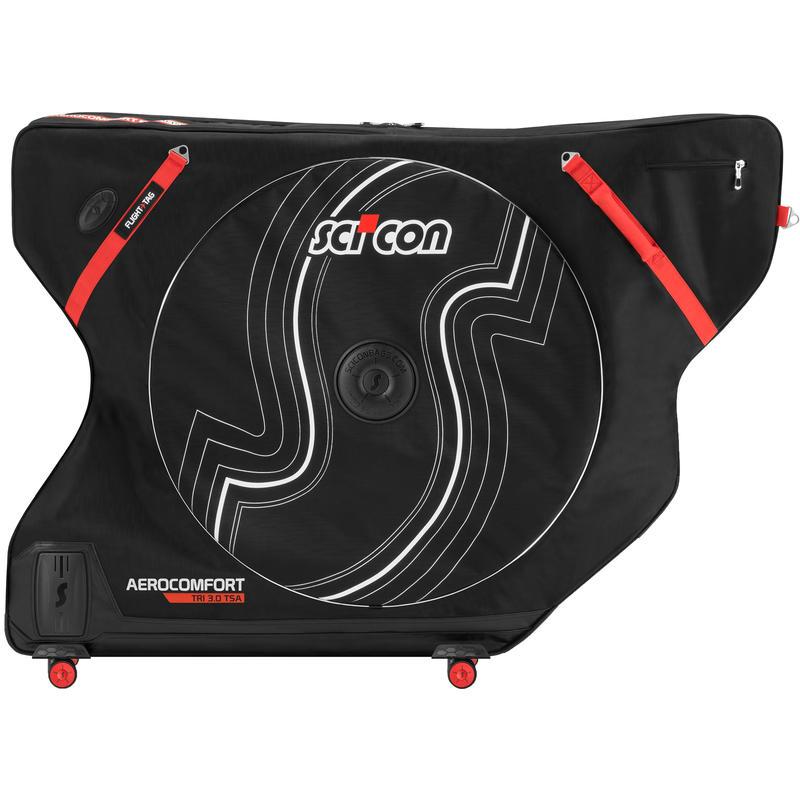Sac de transport Aero Comfort 3.0 TSA (triathlon) Noir