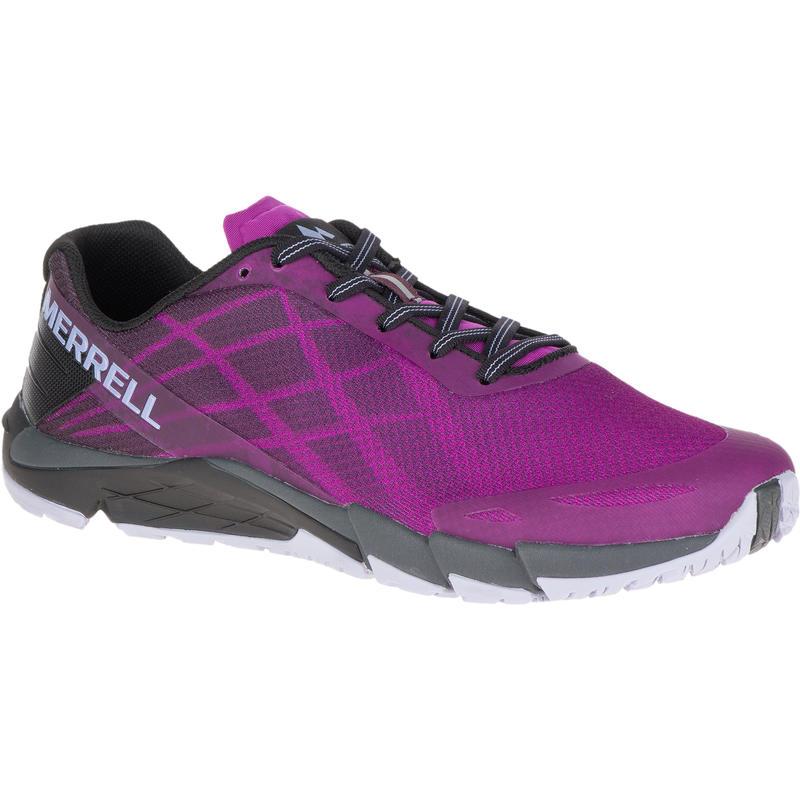 Chaussures de course sur sentier Bare Access Flex Passerose pourpre