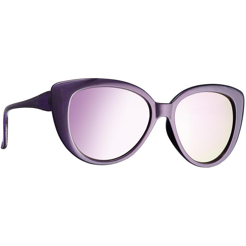 Bloom Sunglasses Gloss Dark Purple/Brown w/Purple Revo