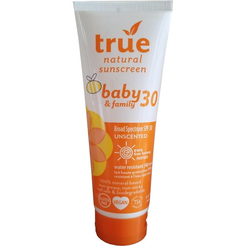 Écran solaire pour bébés FPS 30 (non parfumé)
