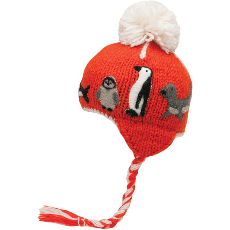 Tuque à cache-oreilles Baffin Tassle Tangerine