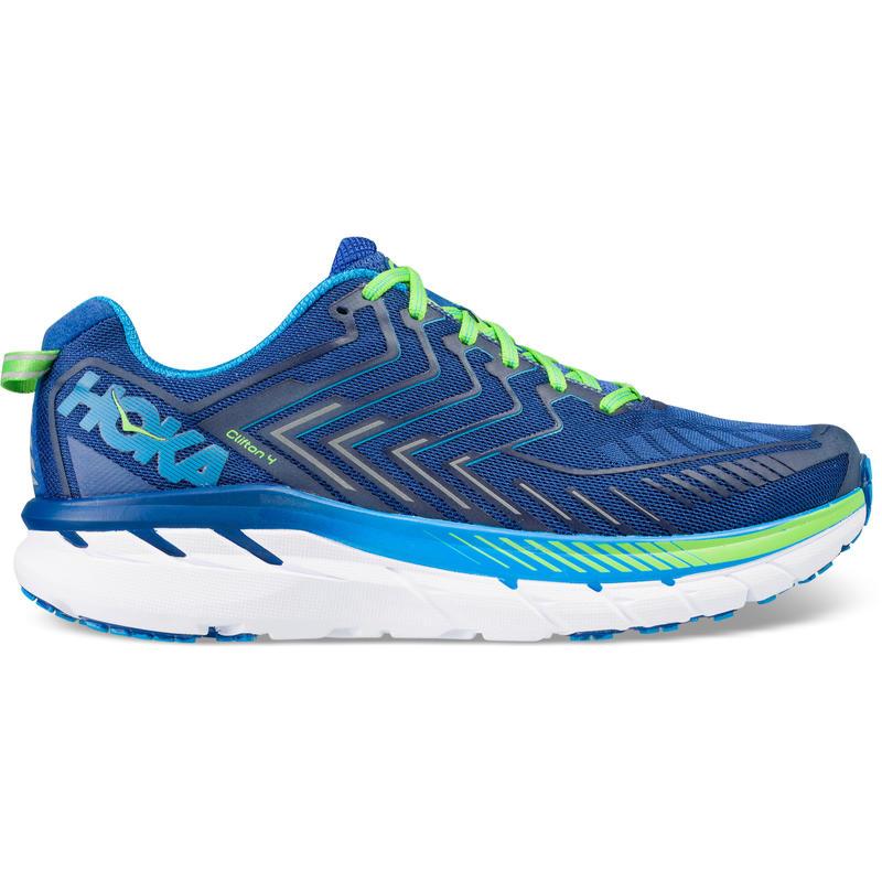 Chaussures de course sur route Clifton 4 Bleu vrai/Vert jasmin