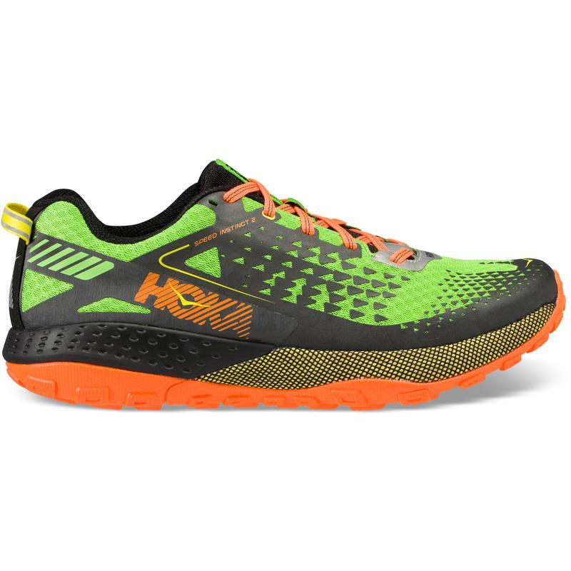 Chaussures de course sur sentier Speed Instinct 2 Vert jasmin/Noir