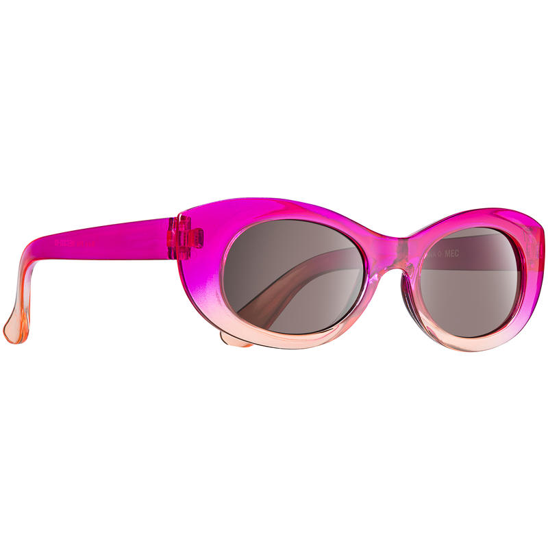 Rory Sunglasses Magenta Pink w/Orange Crystal Fade/Brown