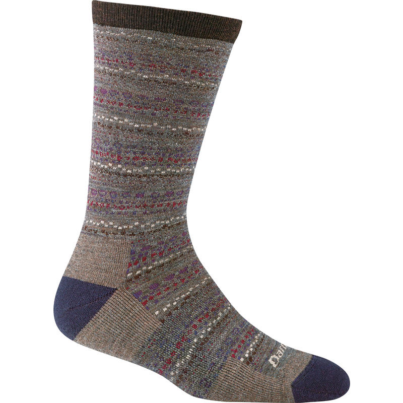 Pebbles Crew Light Cushion Socks Taupe