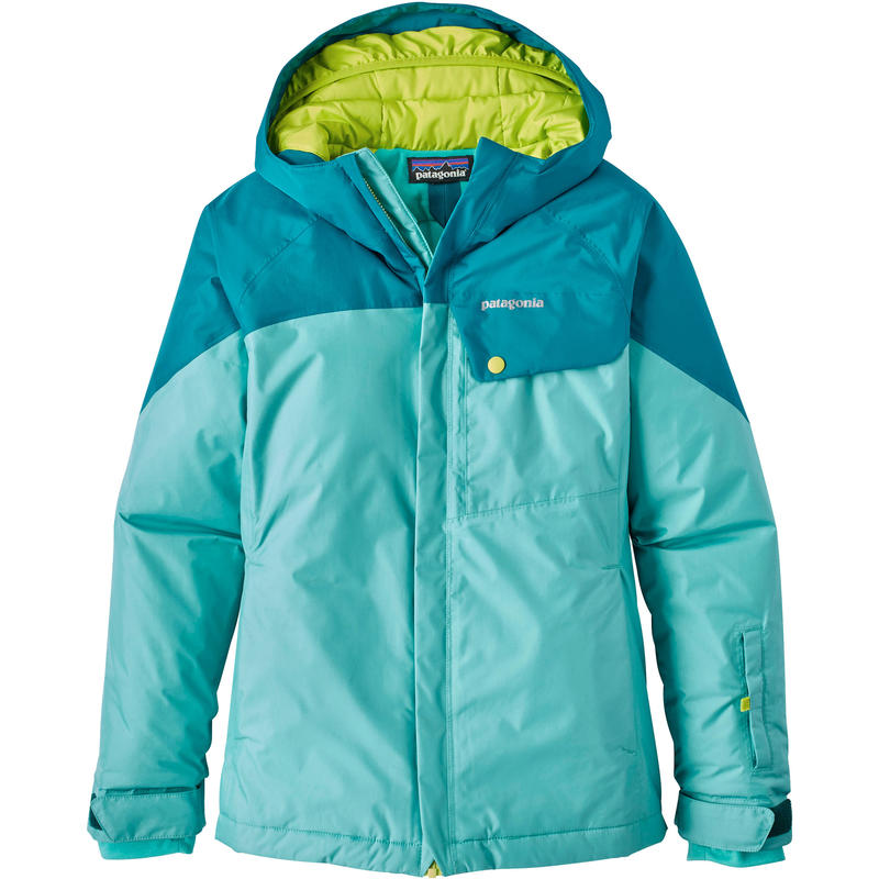 Fresh Tracks Jacket Strait Blue/Elwha Blue/Glare Green