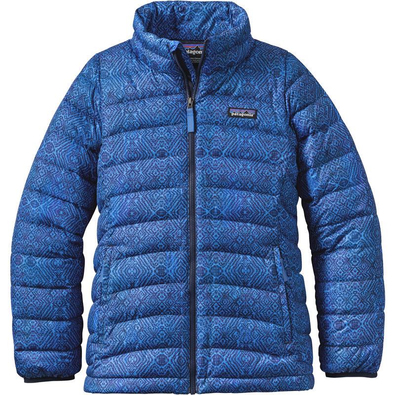 Manteau en duvet Courant transversal:Bleu Oasis