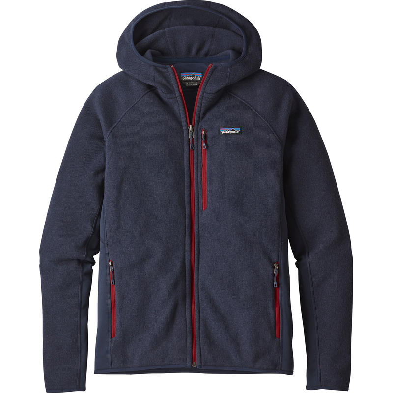 Performance Better Sweater Hoody Navy Blue