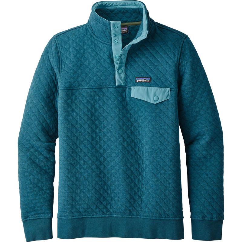 Chandail Snap-T en coton piqué Bleu Elwha