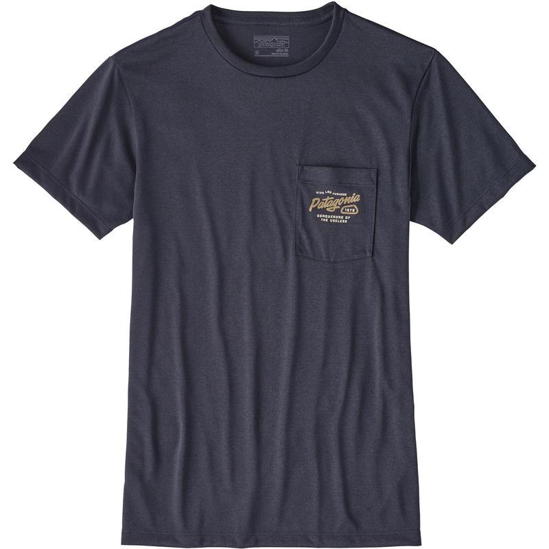 T-shirt Splitter Script Bleu calciné