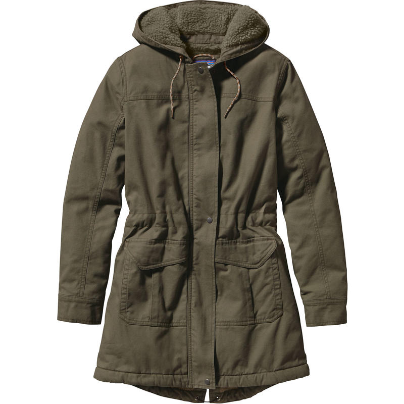Insulated Prairie Dawn Parka Industrial Green w/Industrial Green
