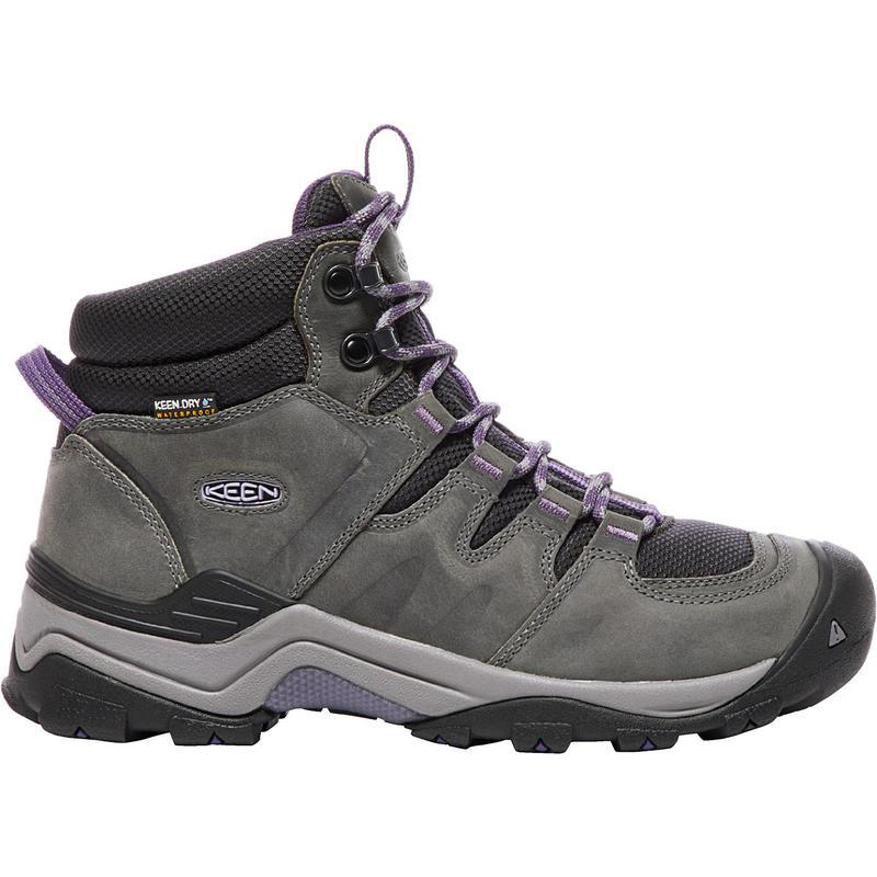Chaussures de randonnée légère Gypsum II Mid WP Earl Grey/Pourpre plumeria