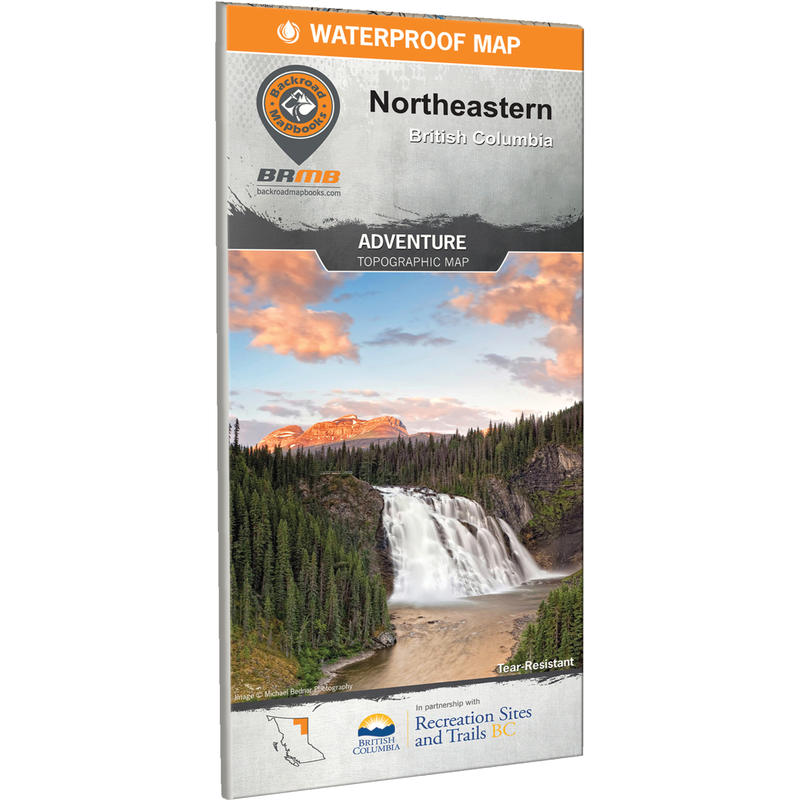 Northeastern BC Waterproof Map