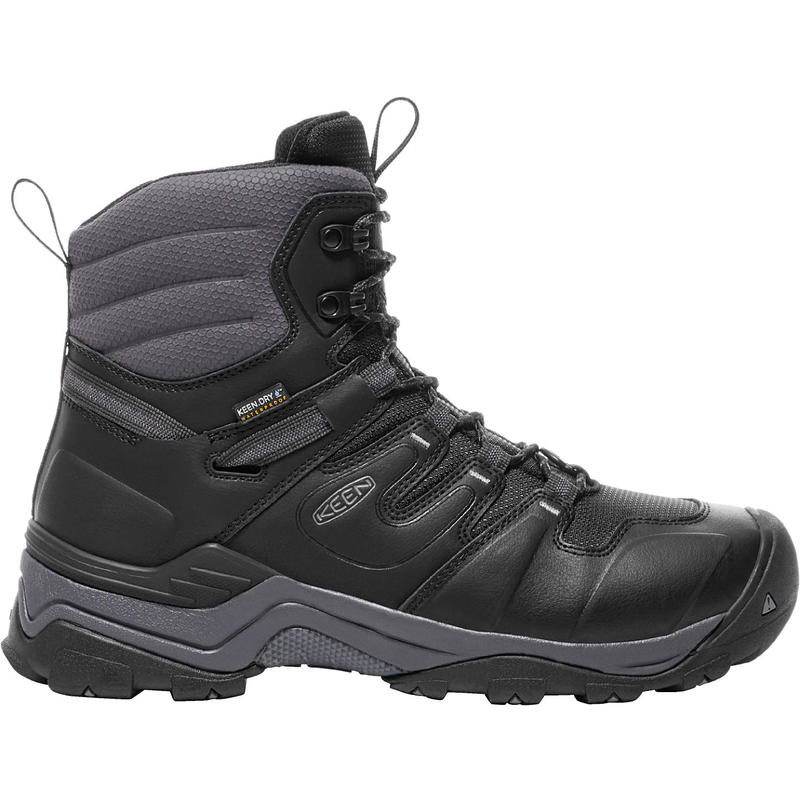 Gypsum Polar Winter Boots Black/Steel Grey