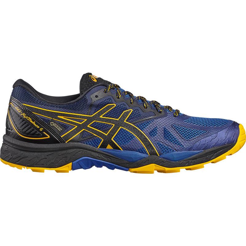 Chaussures course sur sentier Gel-FujiTrabuco6 GTX Bleu/Or