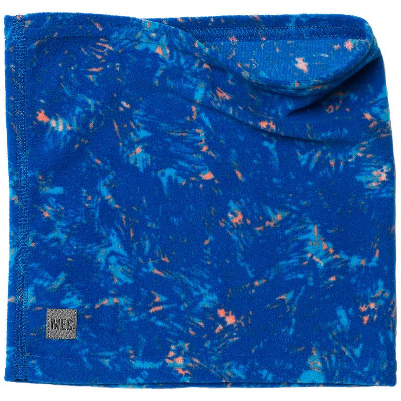 Cache-cou Imprimécroquis floral bleu royal