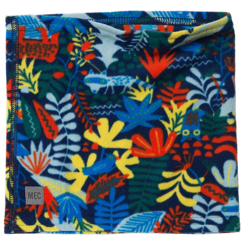 Neck Gaiter Pimento Wild Forest Print