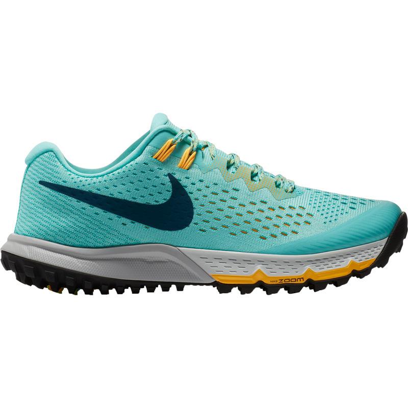 Chaussures de course sur sentier Zoom Terra Kiger4 Vert aurore/Jade clair