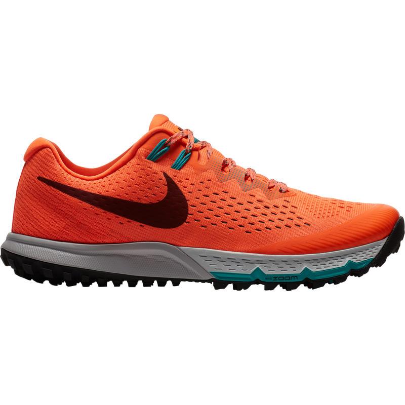Chaussures de course sur sentier Zoom Terra Kiger4 Hyper cramoisi/Équipe rouge foncé