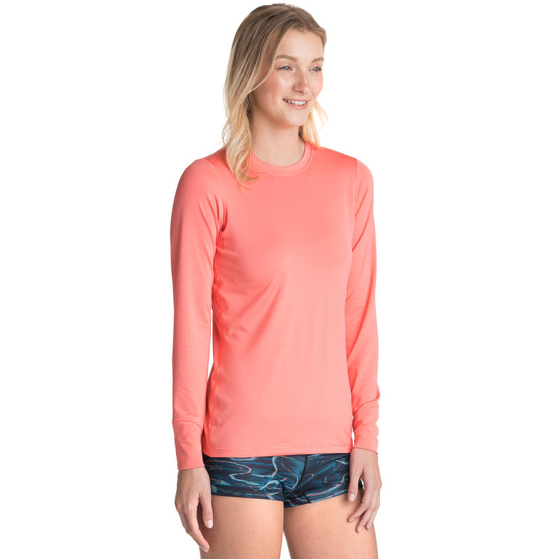T1 Long-Sleeved Crew Coral Reef