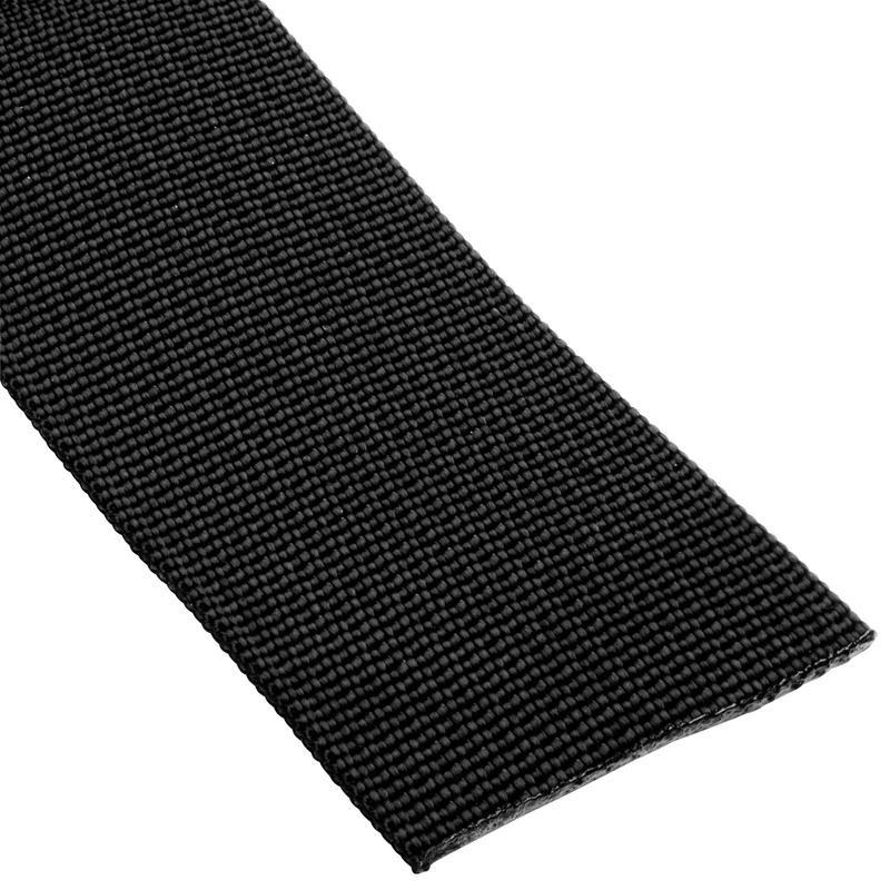 "1.5""(38mm) Nylon Flat Accessory Webbing Black"