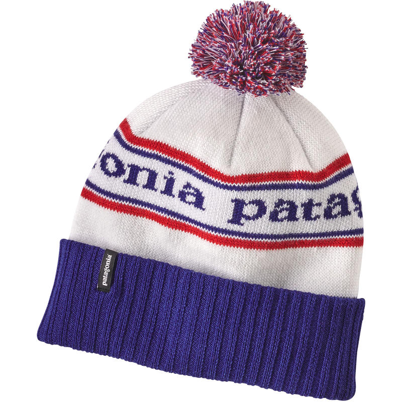 Tuque Powder Town Rayures parc/Bleu Viking