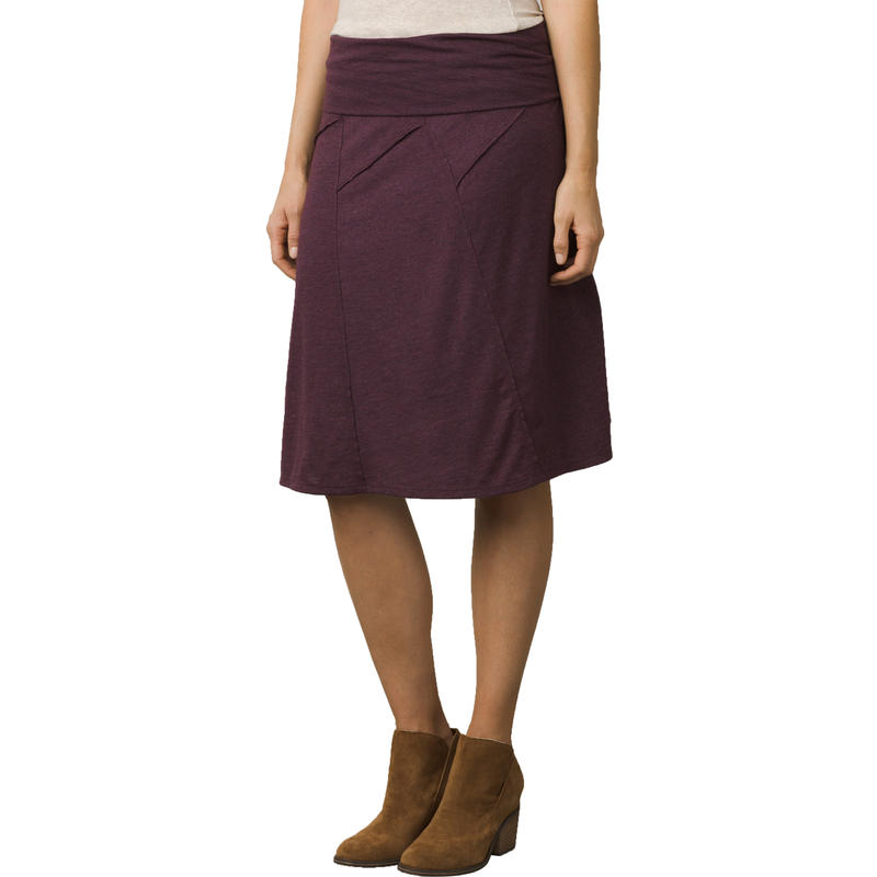 Daphne 2 Skirt Dark Plum