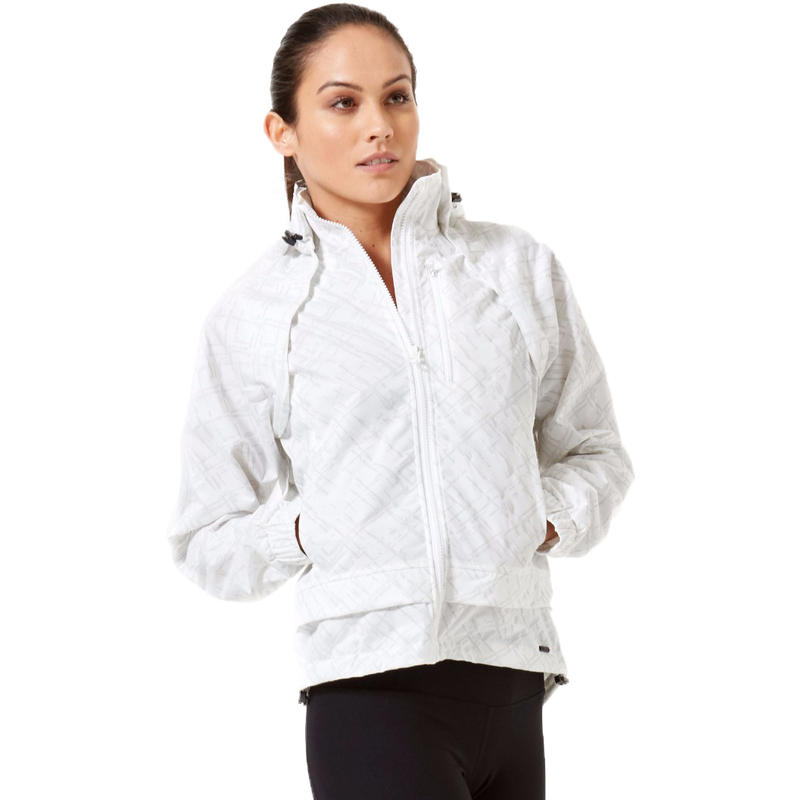 Manteau Hi-Vis Beacon convertible Blanc vif