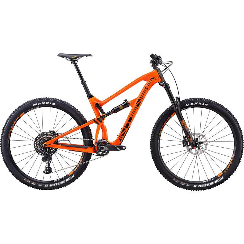Vélo Carbine - version Expert 2018 Orange/Noir