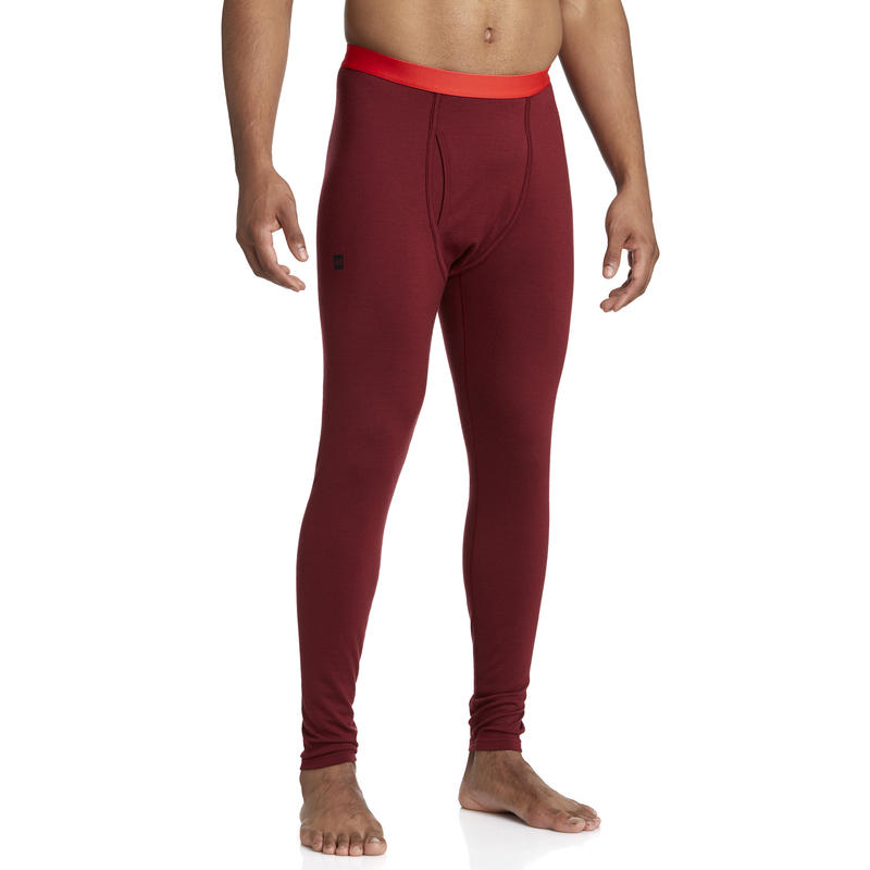 Merino T2 Long Johns Red Oxide
