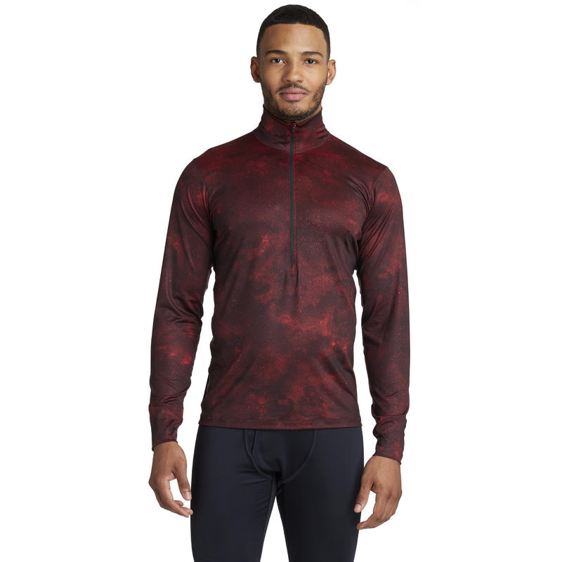 T1 Long-Sleeved Zip-T Interstellar Print