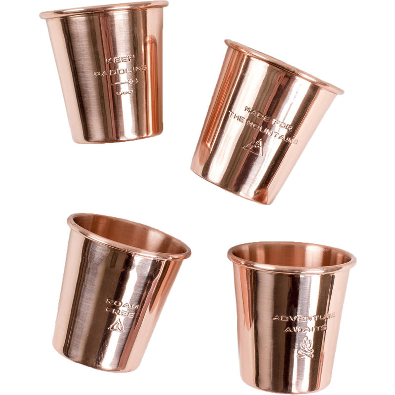 Copper Shot Glass Set Copper