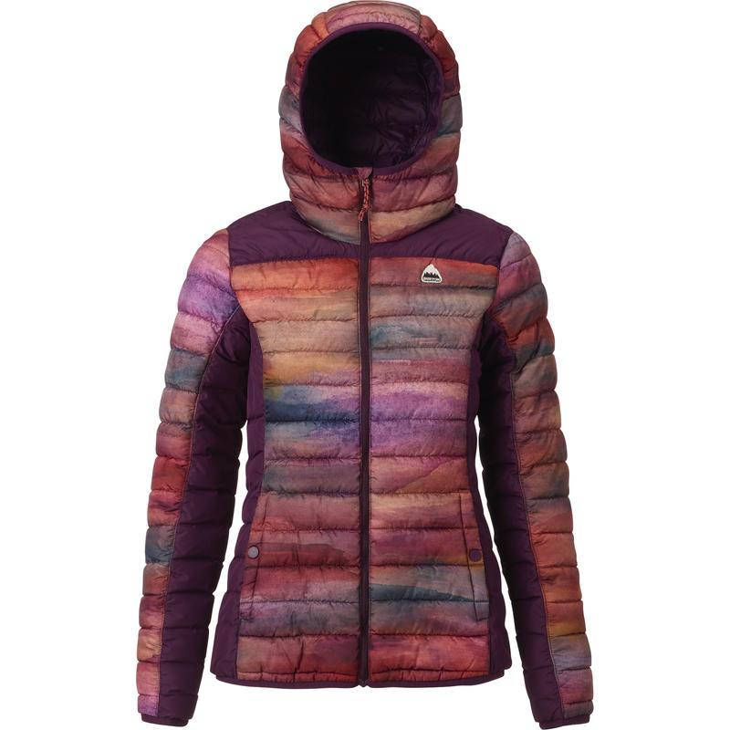 Manteau à capuchon Evergreen en synthétique Sedona/Étourneau
