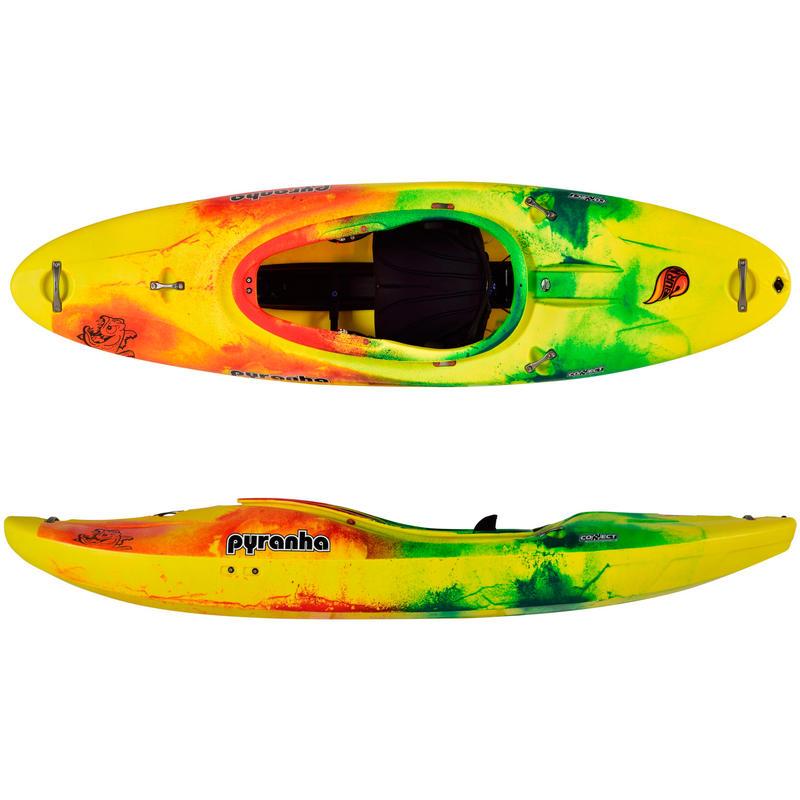 Kayak Burn III Jaune/Rouge/Vert foncé