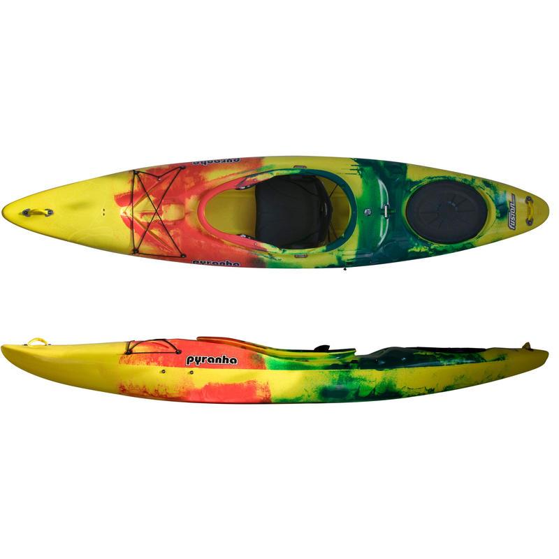 Kayak Fusion Jaune/Rouge/Vert foncé