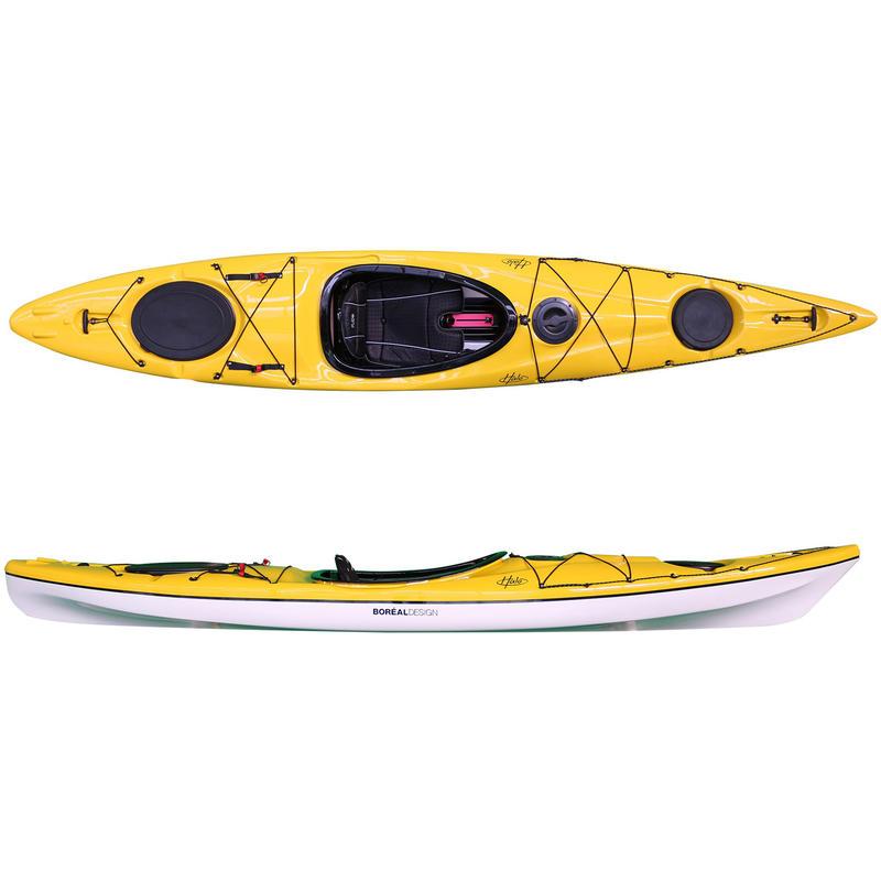 Kayak Halo SR130 Jaune/Blanc
