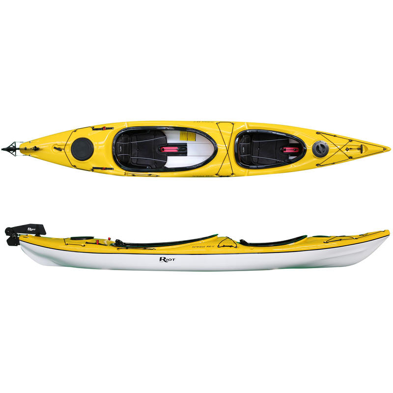 Kayak MK II Jaune/Blanc