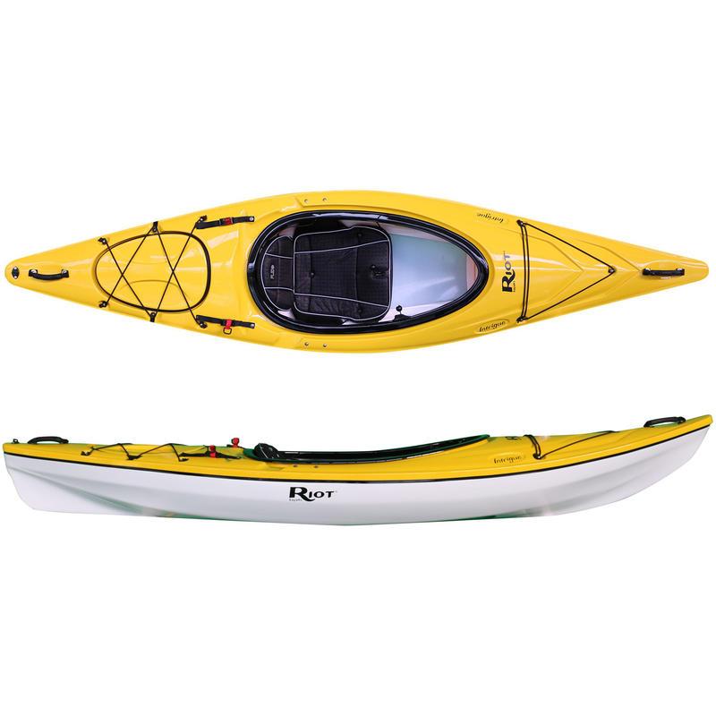 Kayak Intrigue Jaune/Blanc