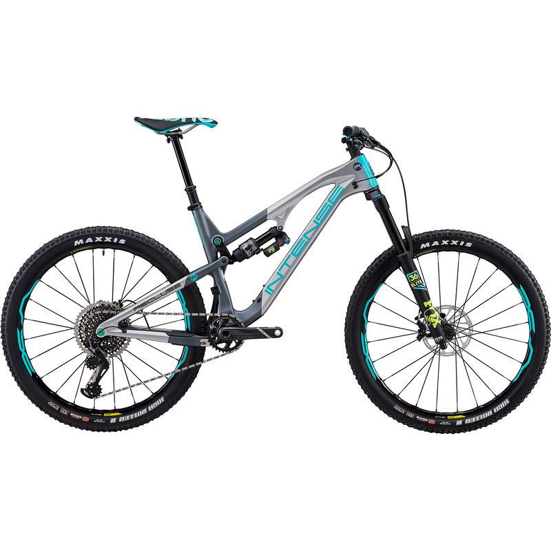 Vélo Recluse - série Pro 2018 Gris/Turquoise