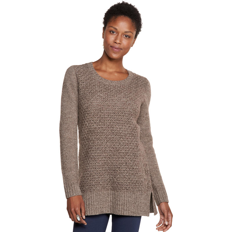 Kintail Sweater Tunic Stout Brown Marle