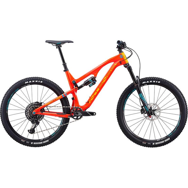Vélo Recluse - série Expert 2018 Rouge/Orange