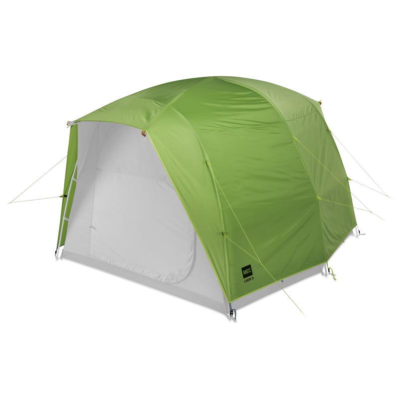 Double toit pour tente Cabin 6 Goyave/Pomme acidulée