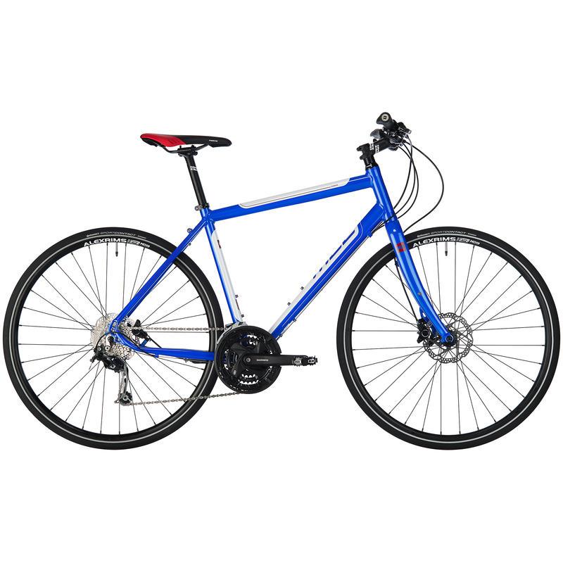 Vélo Silhouette Bleu/Blanc