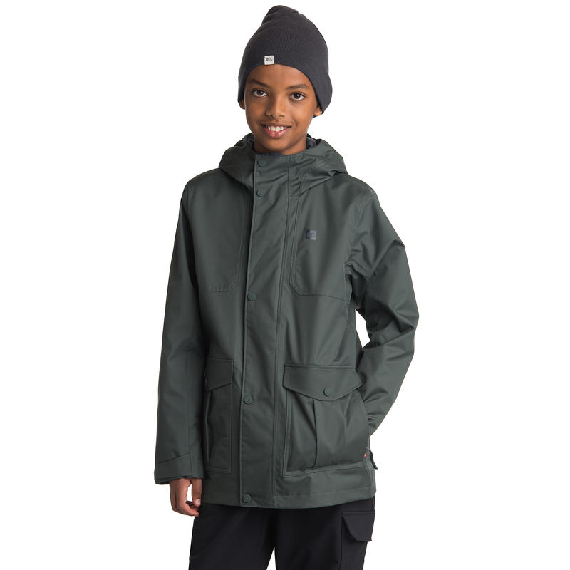 Watershed Jacket Carbon Green