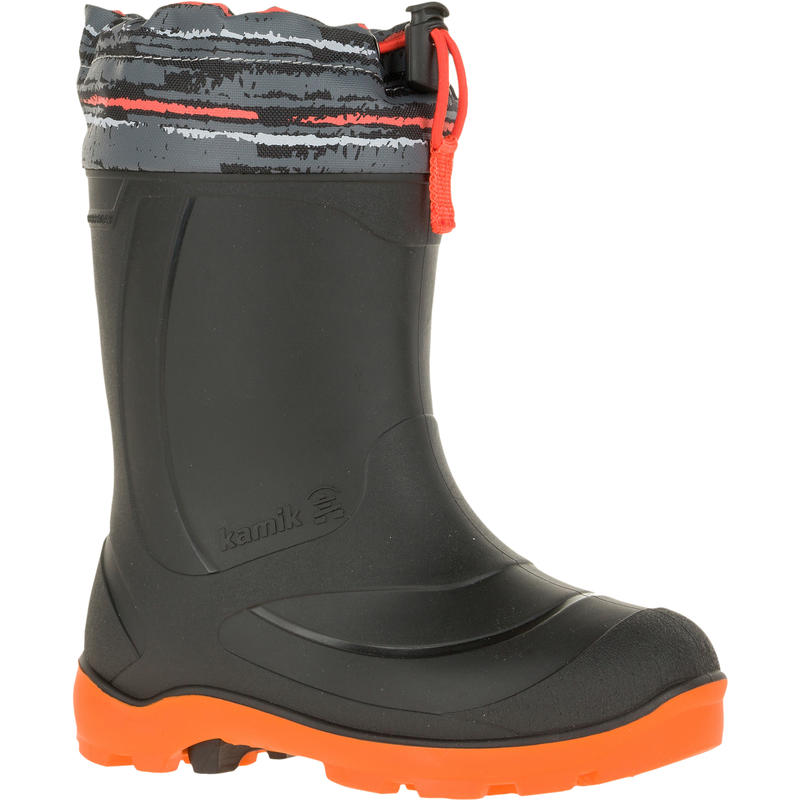 Snobuster2 Boots Charcoal/Orange
