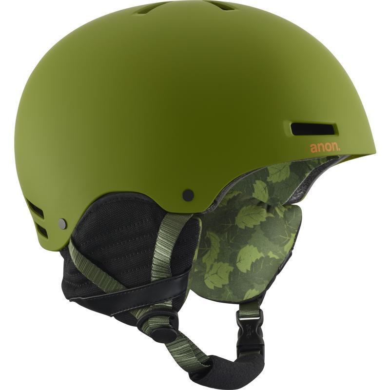 Casque de ski Raider Arbres verts