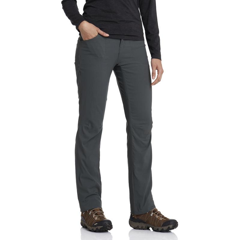 Pantalon doublé extensible Terrena - longueur ord Vert carbone